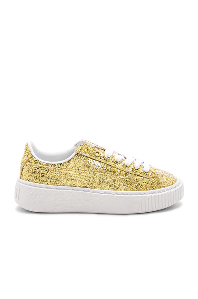 glitter metallic gold shoes