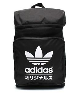 ADIDAS ORIGINALS TYPO CLASSIC BACKPACK BLACK/WHITE TREFOIL Japan bag NWT