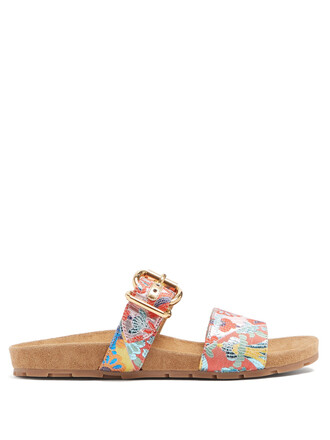 camouflage sandals shoes