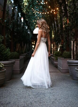 dress tumblr maxi dress white long dress long dress white dress formal event outfit evening outfits prom dress