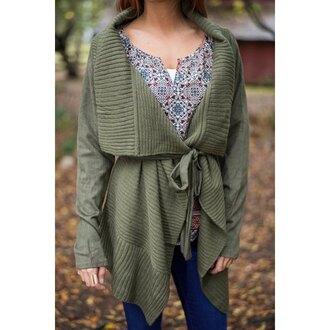 cardigan army green oversized cardigan rose wholesale winter outfits fall outfits oversized sweater casual