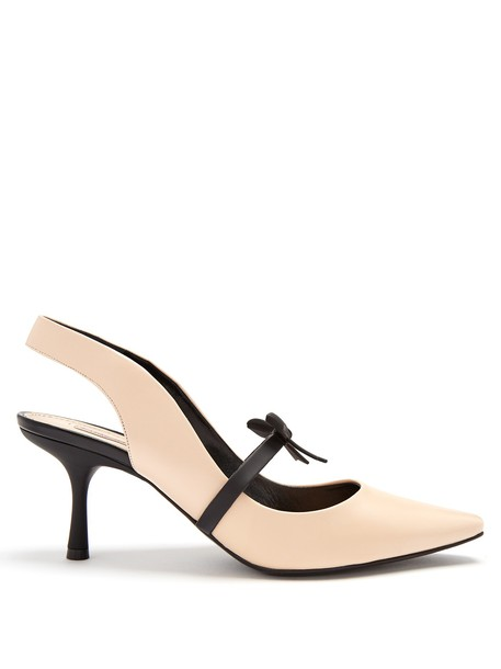 Fabrizio Viti pumps leather nude shoes