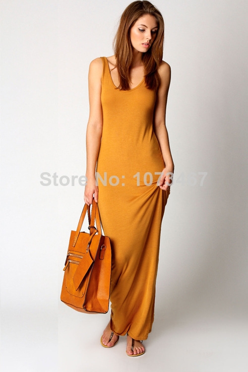 Aliexpress.com : Buy New Long Summer Dress 2014 Womens Evening Party Dresses Casual Brief Maxi Bohe Dress Gowns Sundress Drop Shipping from Reliable dresses for thin women suppliers on onesiescos