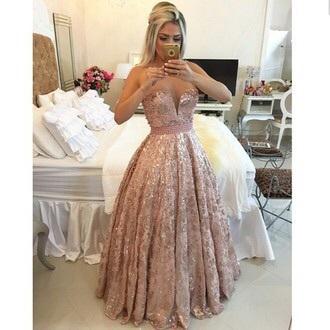 dress prom dress long prom dress prom gown 2014 prom dresses date dress bling dress glitter dress pink dress style bridesmaid wedding dress long dress