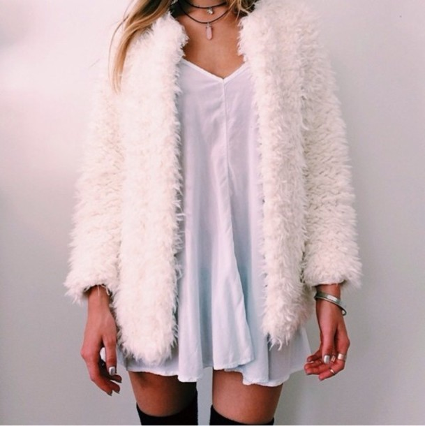 Girly Fur Coat - Shop for Girly Fur Coat on Wheretoget