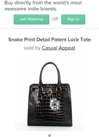 bag snake print tote bag new year's eve