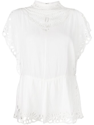 top lace white
