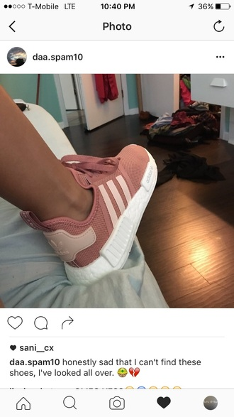 shoes adidas light pink