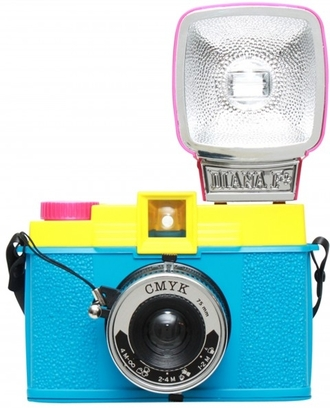 cmyk camera diana f + technology photography jewels