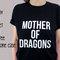 Madre di dragon camicia, 100% cotone t-shirt, unisex
