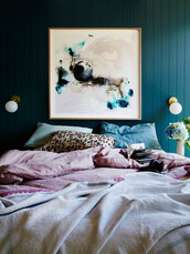 home accessory,art,home decor,bedding,bedroom,painting,leopard print,home furniture