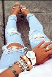 jeans,ripped,light blue,light blue jeans,light blue ripped jeans,skinny,skinny jeans,hollow out,hollow knee light blue jeans,ripped skinny jeans,bodycon,tight,tights,sexy,sexy jeans,sexy ripped jeans,musthave,preppy,preppy jeans,tumblr,tumblr jeans,tumblr preppy,tumblr outfit,girly wishlist,girly,lovely,cute,fashion,streetwear,stylish,casual,casual pants,moraki,ripped jeans,hollow knee jeans,beautiful girly watch,fashion is a playground,fashion toast,fashion vibe,fashion inspo,streetstyle