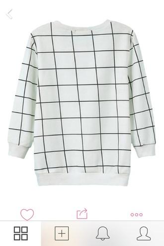 sweater pale grunge pale minimalist alternative checkered hipster wishlist