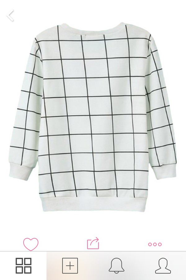sweater pale grunge pale minimalist alternative checkered hipster wishlist