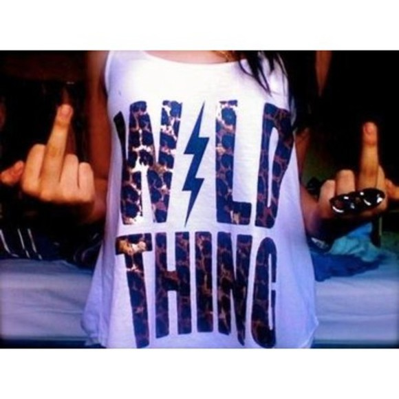shirt cute wild thing