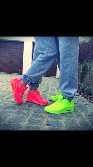shoes pink nike sneakers airmax