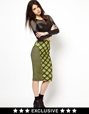 Freak of Nature | Freak Of Nature Mad Bad And Plaid Skirt In Tartan at ASOS