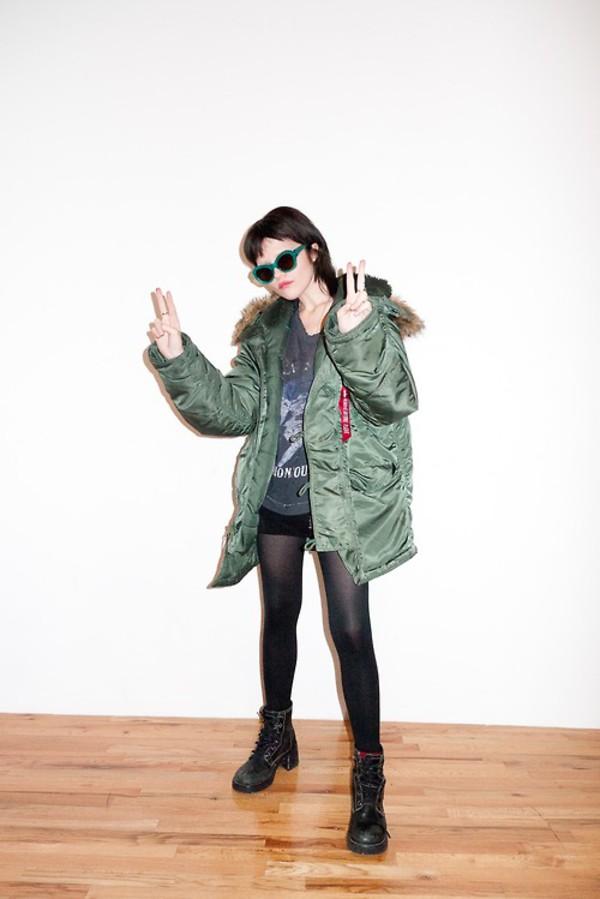 jacket sky ferreira fall outfits