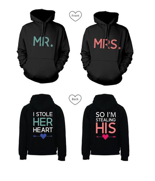 Sweater: mr and mrs, stealing heart, stealing heart hoodies ...