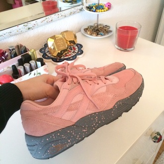 shoes reebocks pink reebok