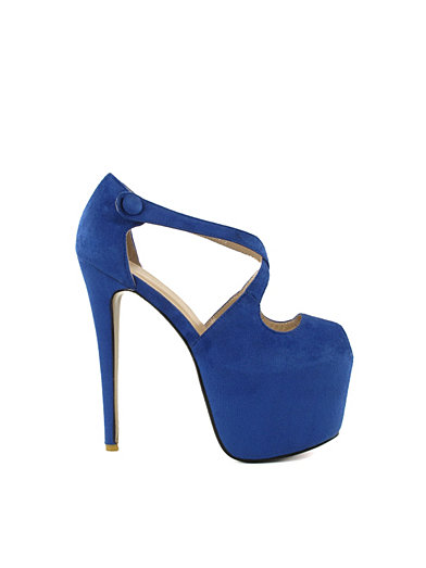 Drama Queen - Nly Shoes - Blue - Party Shoes - Shoes - Women - Nelly.com Uk