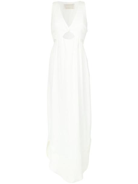 Lilly Sarti dress evening dress women white