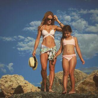 swimwear solkissed swim bikini fully lined pink print criss cross top bralette bralette bikini bralette bikini top abs