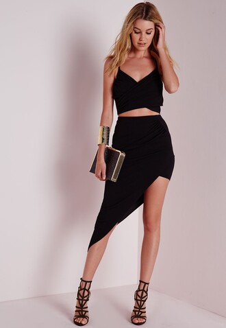 skirt asymmetrical skirt little black dress