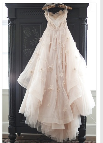 dress fairy tale pink dress