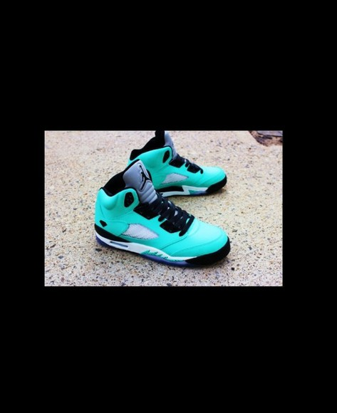 shoes tiffany blue jordans
