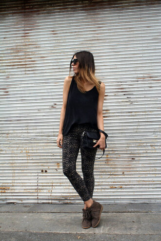 pants leopard print wow pretty fashion girl style 2013 black brown white shoes heels isabel marant