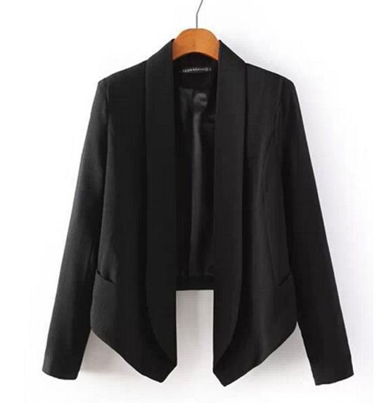 The black or nude blazer