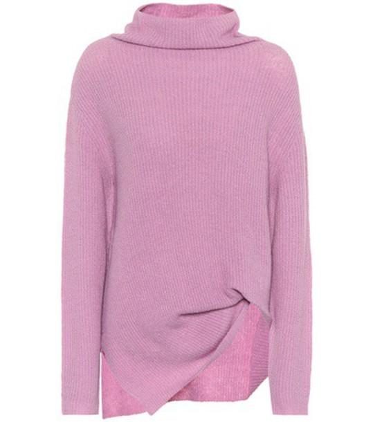 SIES MARJAN sweater knitted sweater purple
