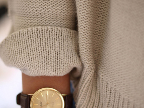 jewels brown gold summer watch
