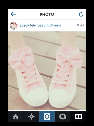 shoes cuteshoes anycolour girl girlsshoes ulzzang pastel pink bows