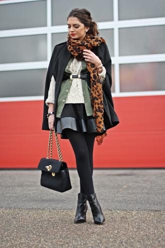 fashionhippieloves jacket skirt sweater shoes bag belt jewels