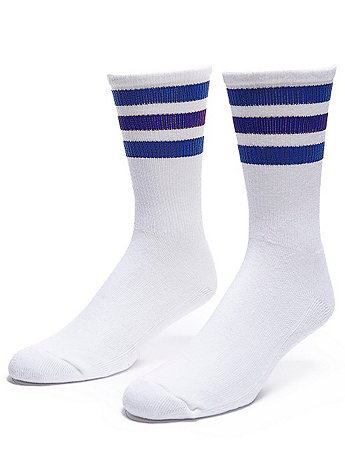 Stripe Calf-High Sock | American Apparel