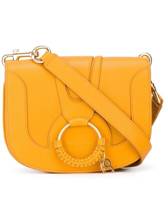 women bag shoulder bag yellow orange