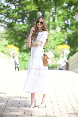 something navy blogger dress shoes bag jewels sunglasses