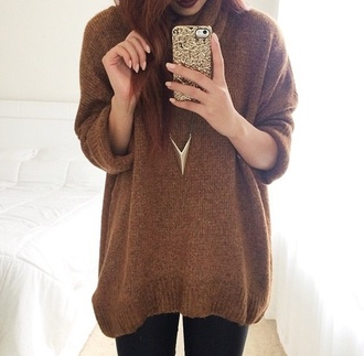 sweater iphone case gold