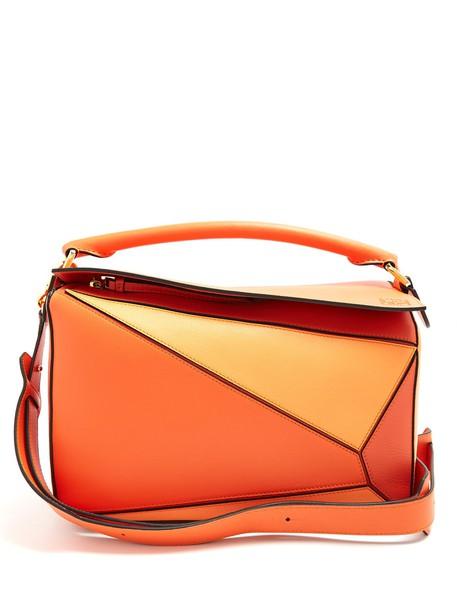 bag leather bag leather orange