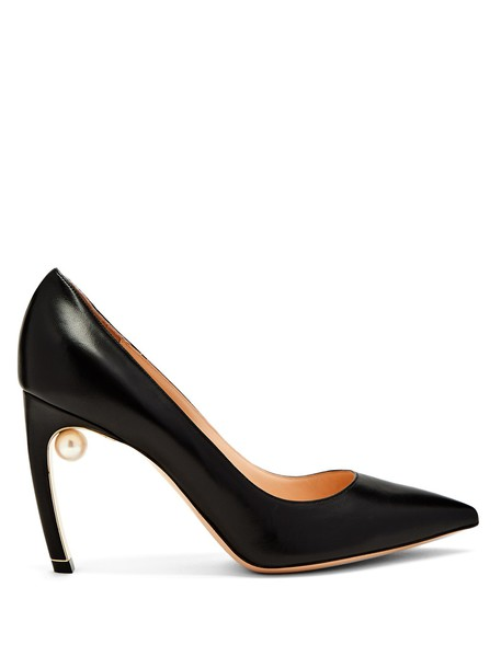 Nicholas Kirkwood pumps leather black shoes