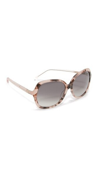 rose sunglasses grey