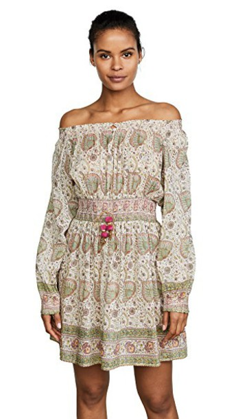 Bell dress printed dress