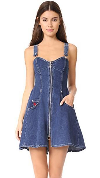 dress overall dress denim