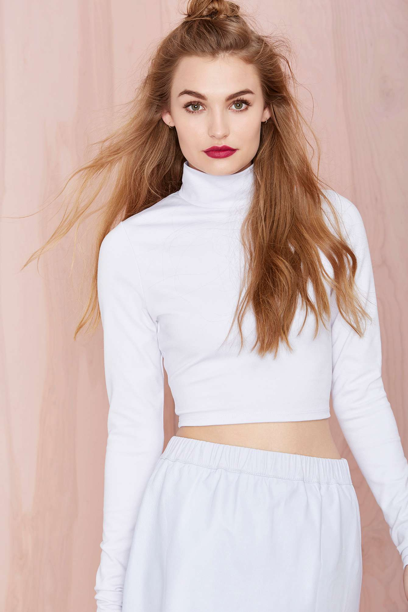 Nasty gal mock my day top