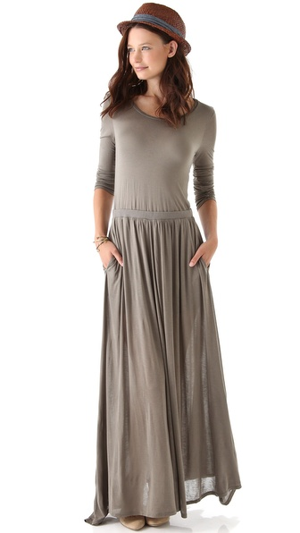 Long sleeve maxi dress for sale