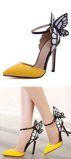 shoes butterfly