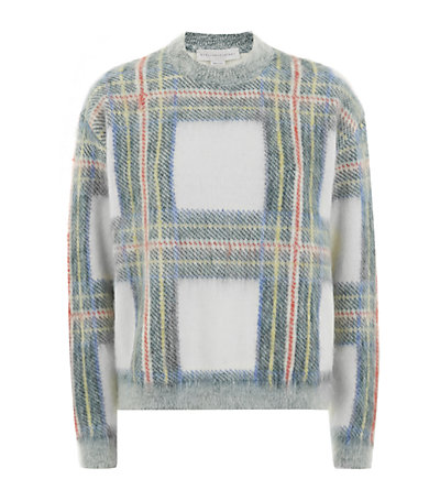 Stella McCartney Tartan Crew Neck Sweater | Harrods