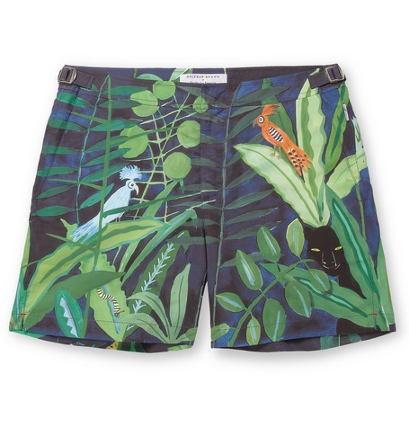 Orlebar Brown - Bulldog Mid-Length Printed Swim Shorts | MR PORTER